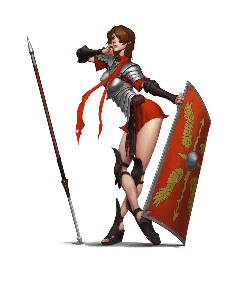 Drawn warrior roman warrior Style style warrior dimelife warrior