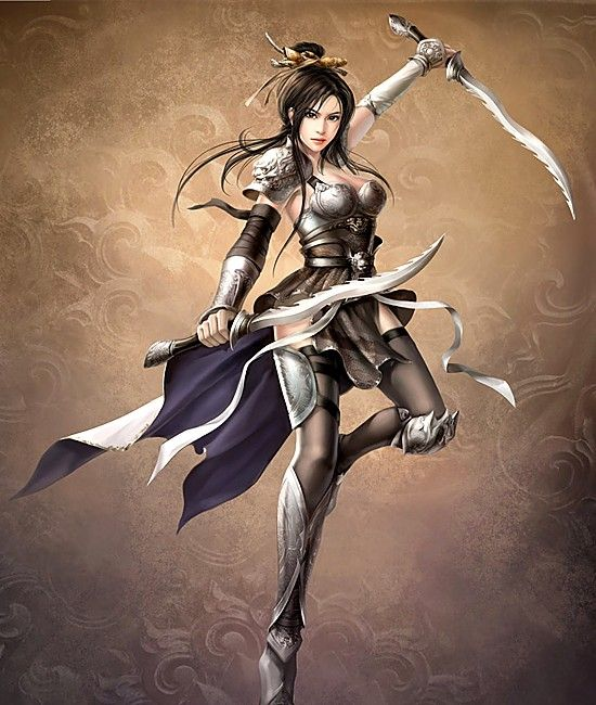 Woman Warrior clipart chinese female Women on Pin more this