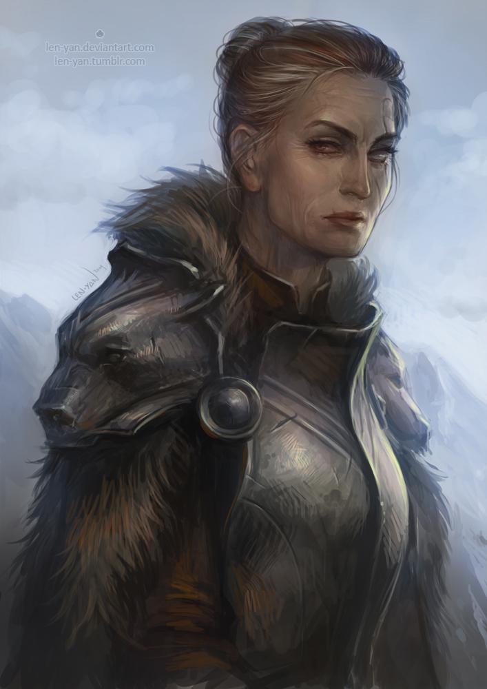 Drawn warrior rpg By yan ursa ursa on
