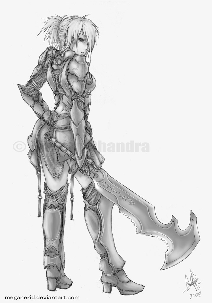 Drawn warrior rpg On Beth  Weapons Romero