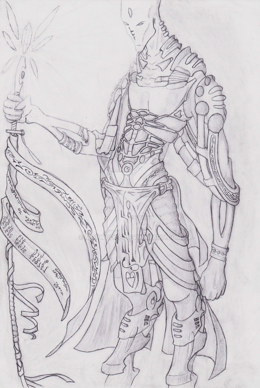 Drawn warrior shaman Warrior by on Shaman DeviantArt