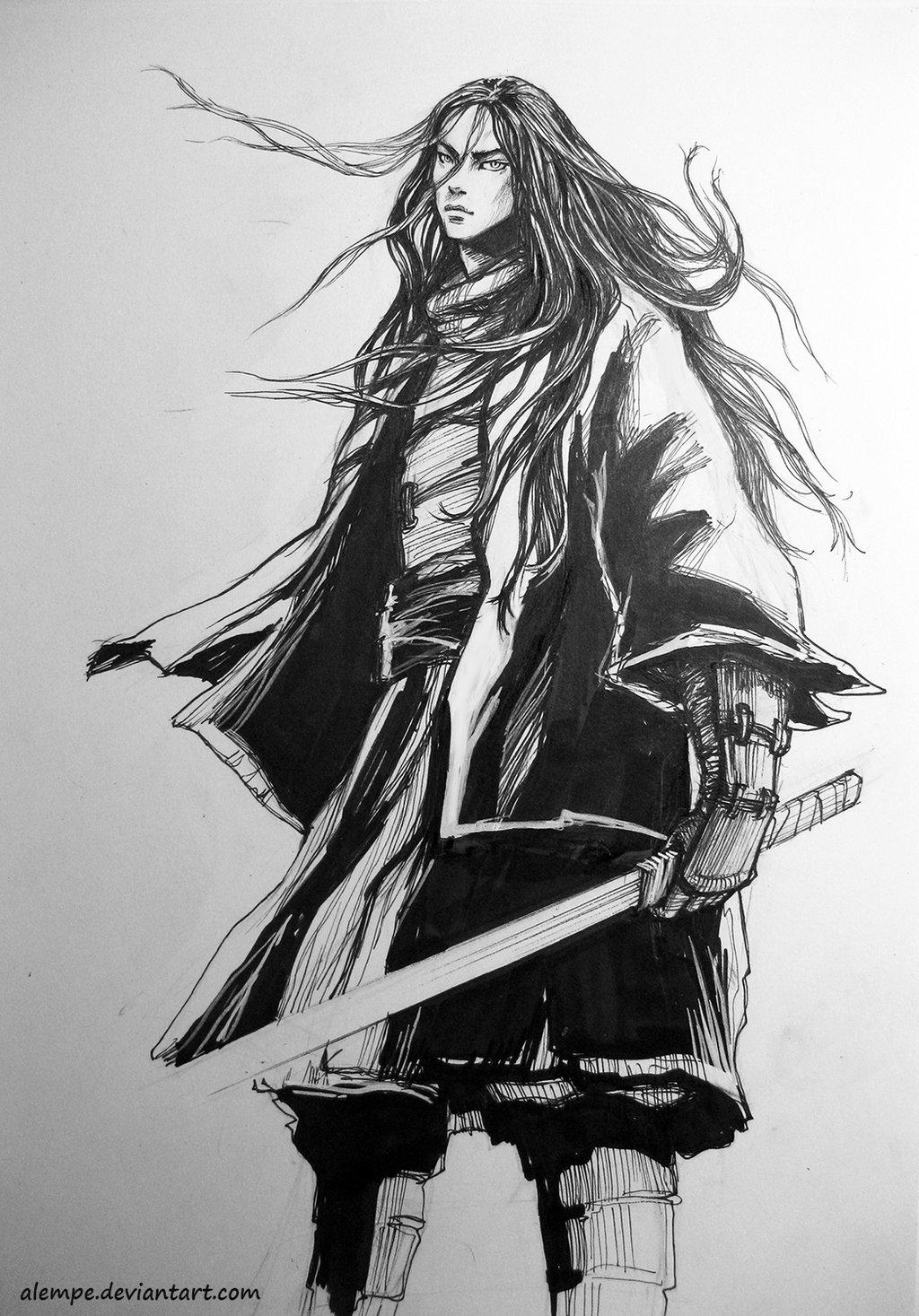 Drawn warrior shaman Shaman alempe by  DeviantArt