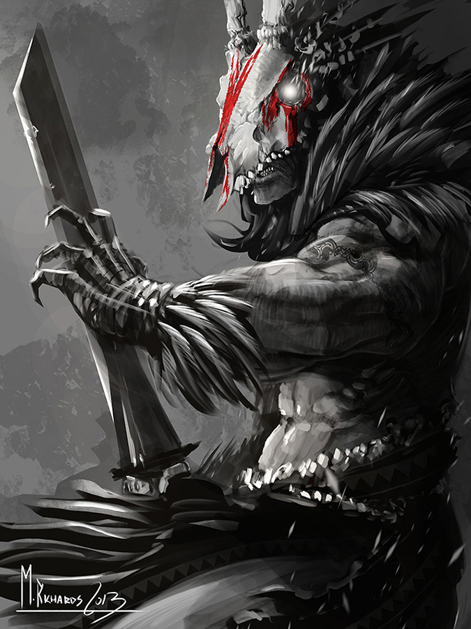 Drawn warrior shaman 471 Shaman Explore Earl DeviantArt