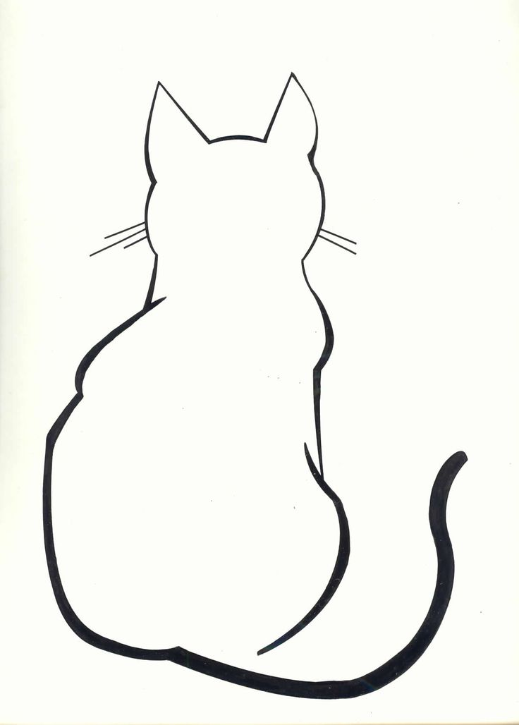 Line Art clipart stock 25+ Cat drawing Cases Pinterest