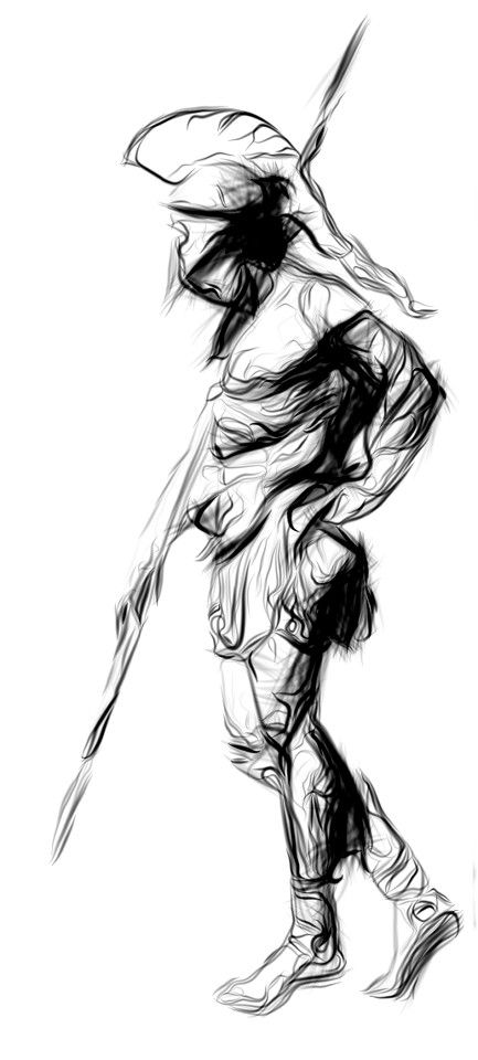 Drawn warrior sparta Ideas Best warrior 25+ Pinterest