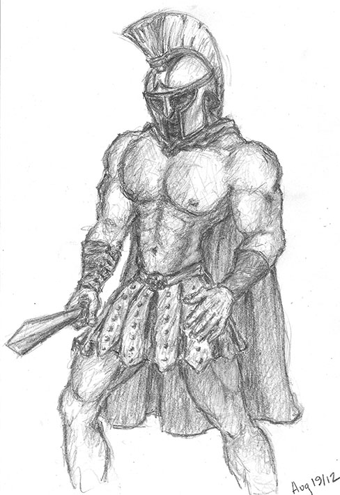 Drawn warrior sparta Inspiration: Stephen on Lawson's Warrior