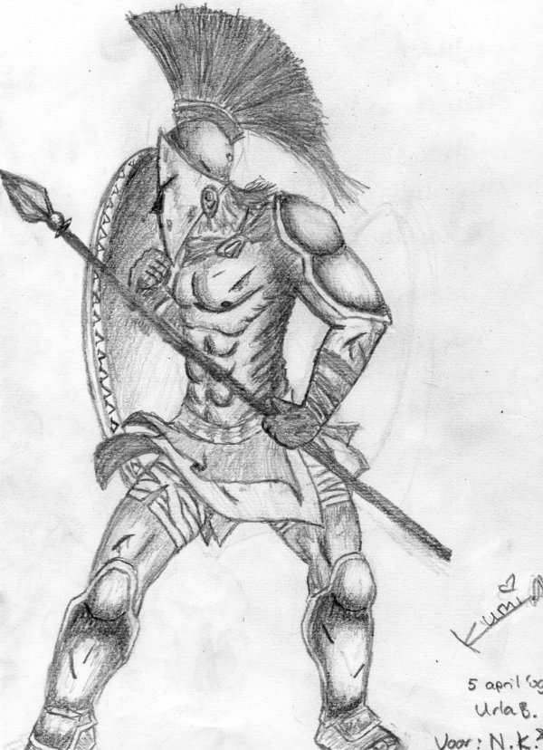 Drawn soldier spartan Roman Related Gladiator  gladiator