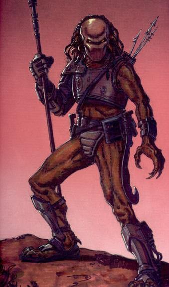 Drawn warrior yautja Predator Alien wiki vs Yautja