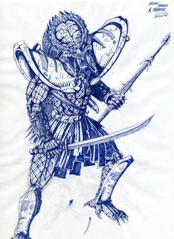 Drawn warrior yautja By Yautja cm023 DeviantArt Elder