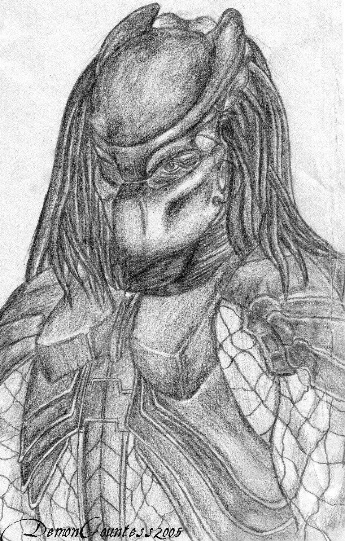 Drawn warrior yautja By Predator DeviantArt on Predator