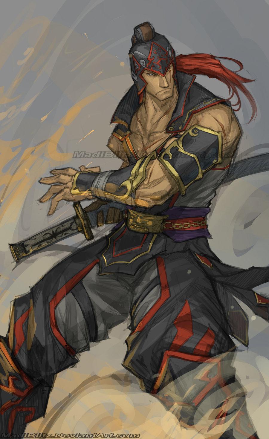 Drawn warrior zhou dynasty Tai MadiBlitz by Warriors DeviantArt