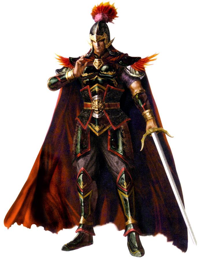 Drawn warrior zhou dynasty Tai WarriorsCg Dynasty Tai warriors