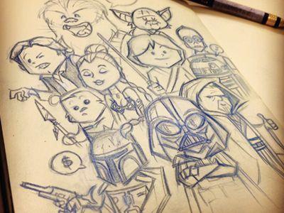Drawn wars doodle Wars Pinterest 194 Doodle best