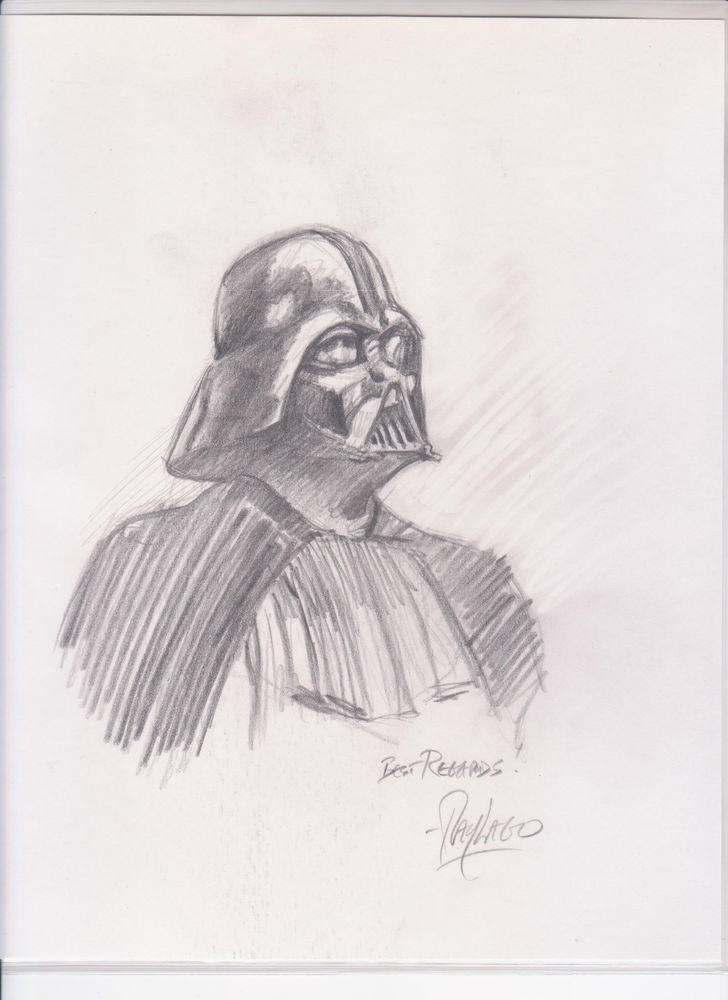 Drawn wars figure drawing DRAWN  STAR PROOF ORIGINAL