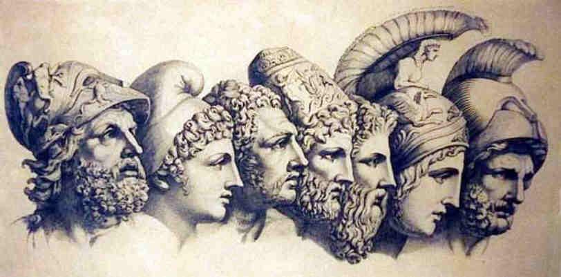 Drawn wars god war Of Gods Greek Destruction War