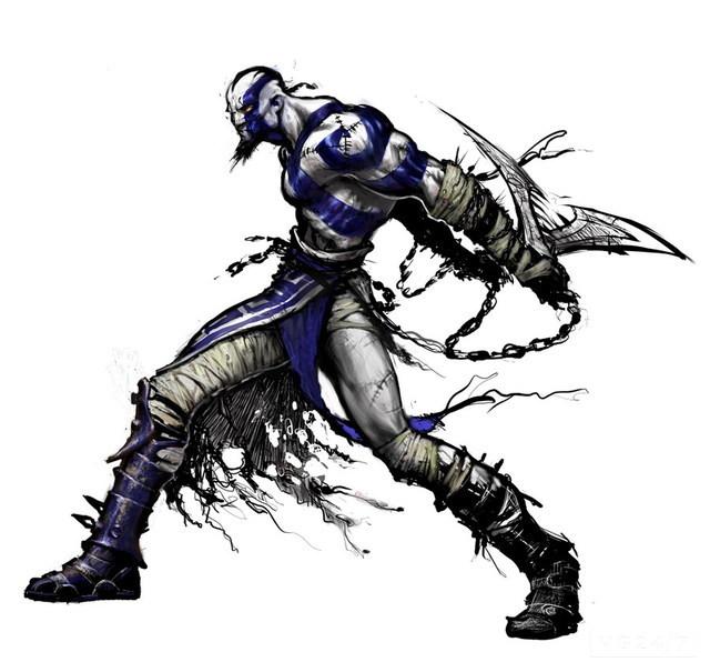 Drawn wars god war Could blue Kratos god_of_war_diablo_2_comparison_1 War's