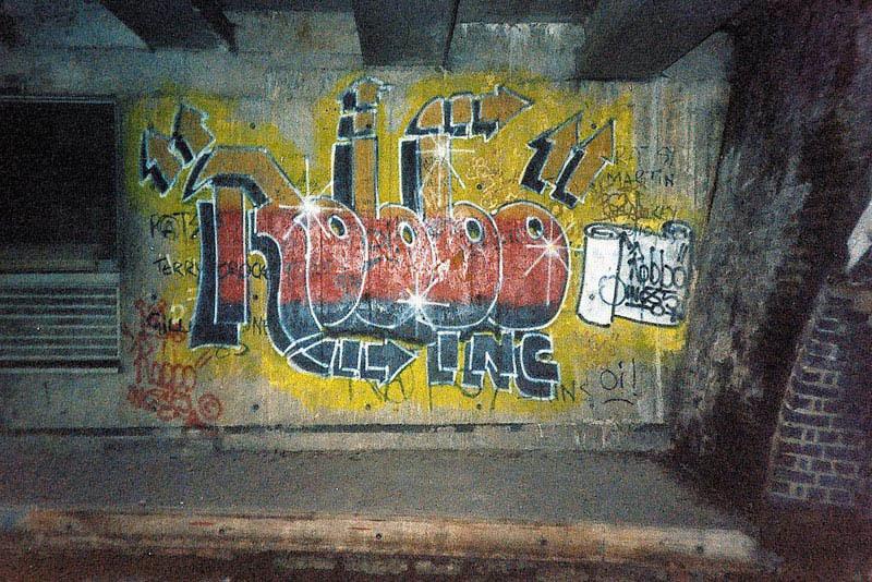Drawn wars graffito ROBBO (STREET An error vs