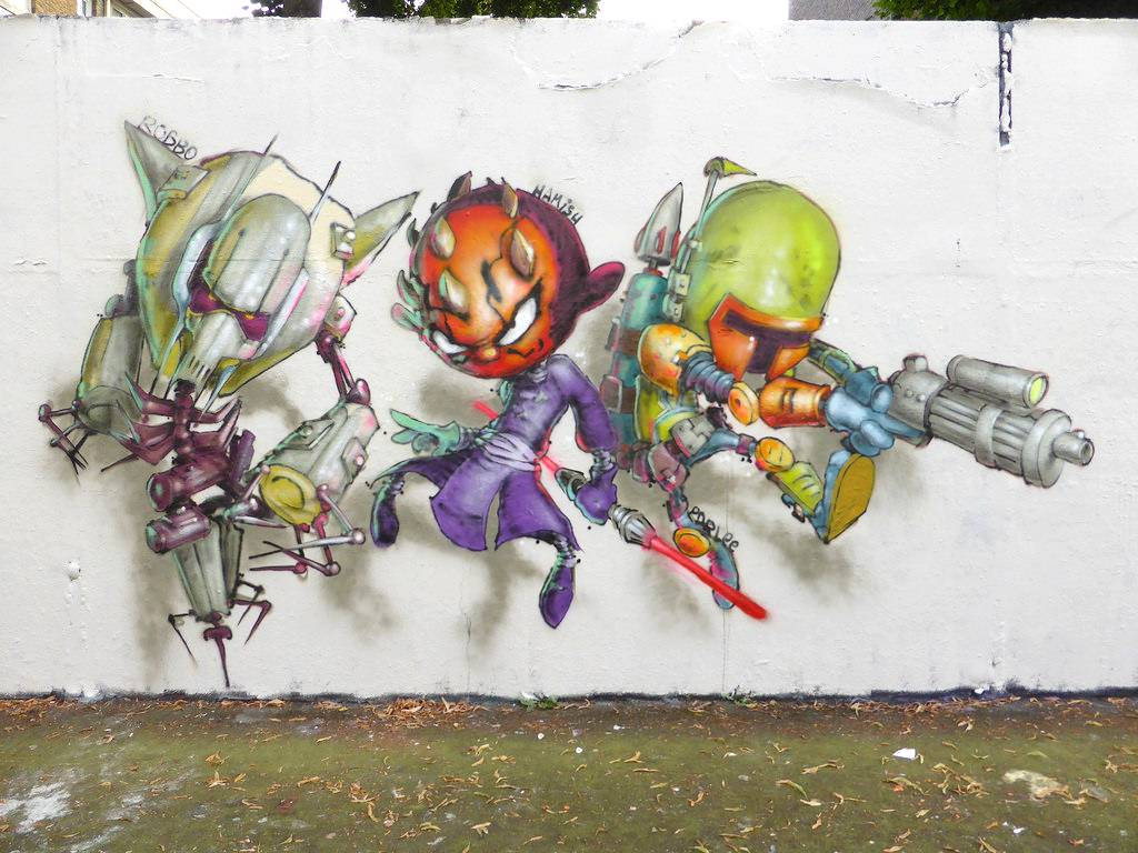 Drawn wars graffito Art We  The Wars