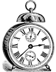 Drawn watch alarm clock Vintage facilisimo es ClocksImage Aprender