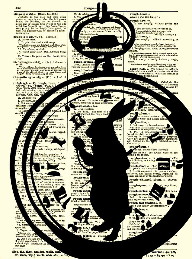 Drawn watch alice in wonderland Watch Print Rabbit in White