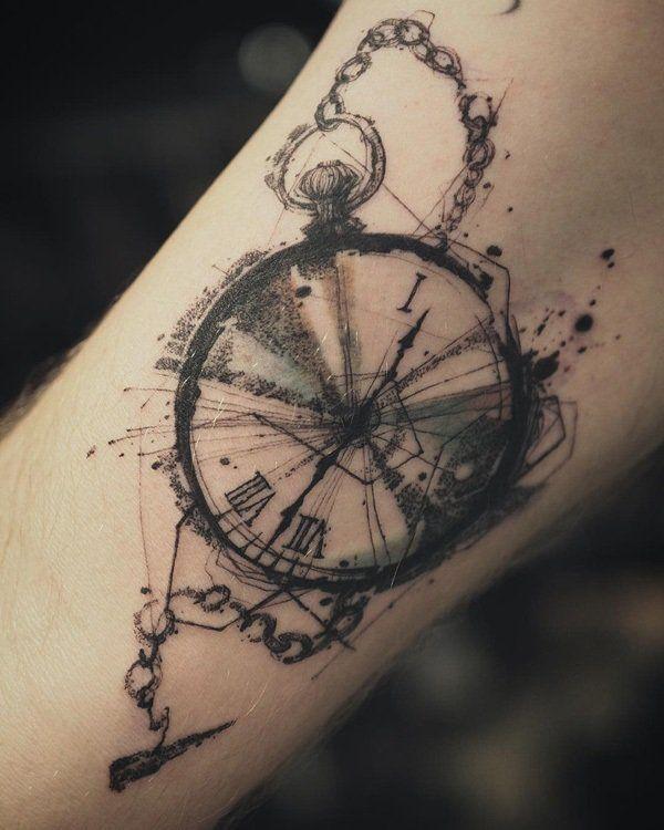 Drawn watch arm Ideas 25+ Designs Best Tattoo