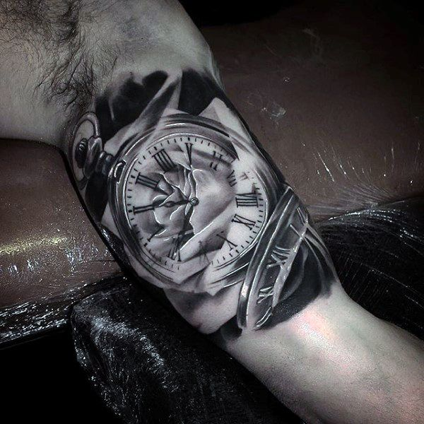 Drawn watch arm Part Meanings ideas Tattoo And
