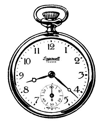 Watch clipart old fashioned Vintage ideas Best Black Watches