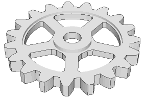 Drawn gears Exporting help Gear generator template