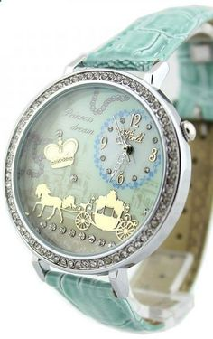 Drawn watch fancy Horse Princess baby Leather watch