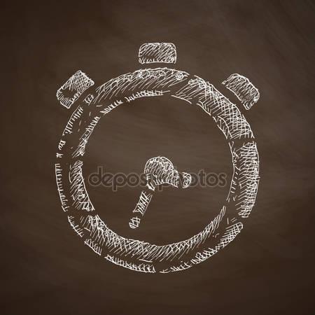 Drawn watch illustration — Vector #95646234 #95646234 ©