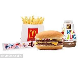 Drawn watch mcdonalds food Children Mighty  unhealthiest meals