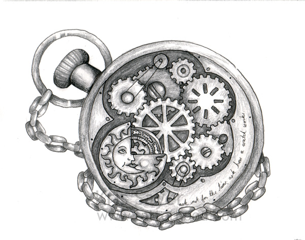 Drawn watch old fashioned 85 pocket about images watch