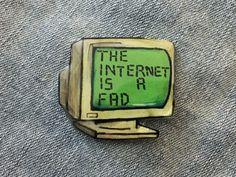 Drawn watch old school School lapel pin an You