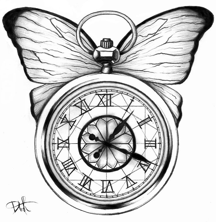 Drawn watch outline On pocket best Google about