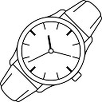 Drawn watch outline Watch files Photos Download PSD