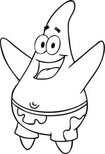 Drawn star easy How your Patrick draw draw