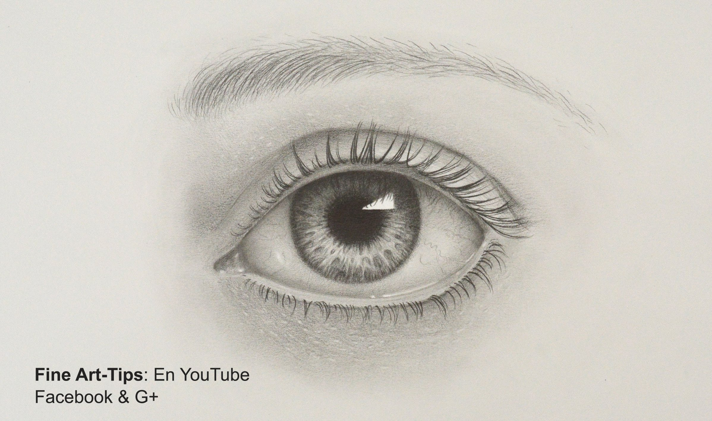 Drawn quoth pencil With Realistic Eye a to