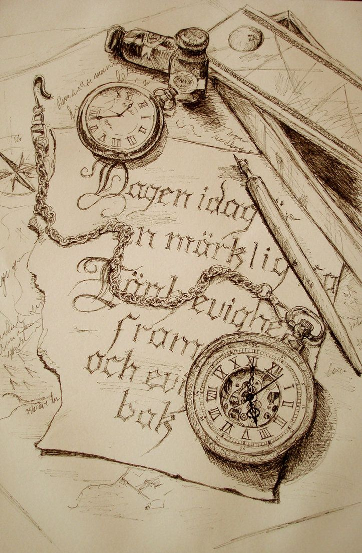 Drawn compass pocket watch drawing Vintage watch Tattoo drawing inspiration