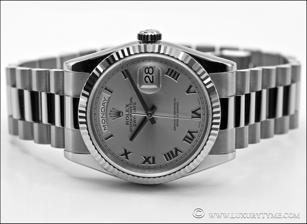 Drawn watch rhodium 118239 gold often The dial