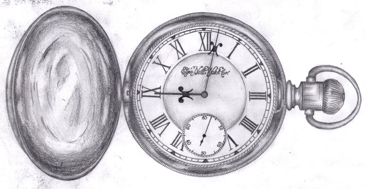 Drawn watch traditional Watch by Pocket LaurenceWhymark on