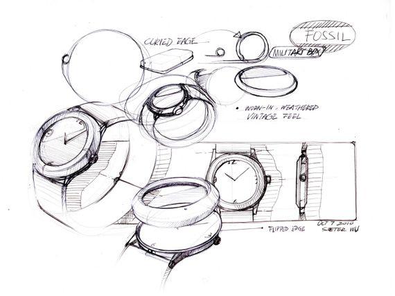Drawn watch wrist watch Watch Watch sketches images on