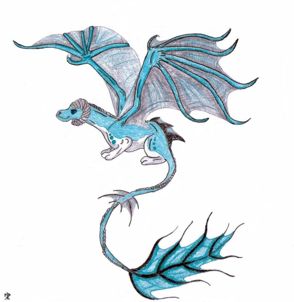 Drawn water dragon For > Water Drawing Dragon