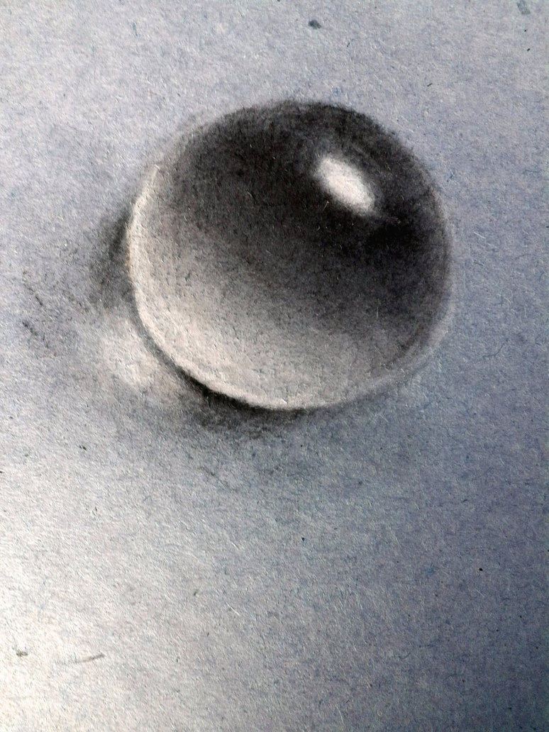 Drawn water drop #15