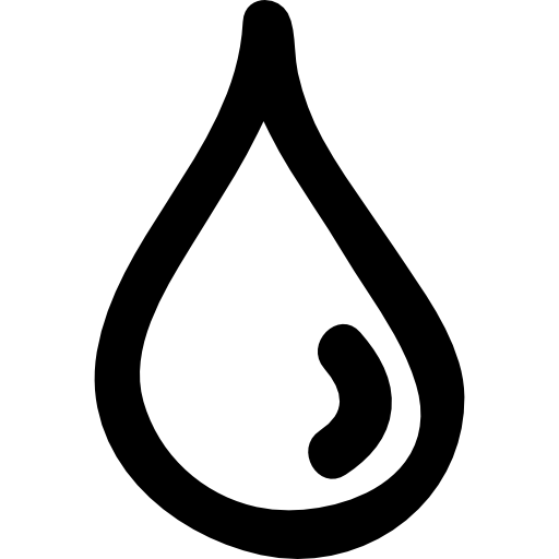 Drawn water drop #14