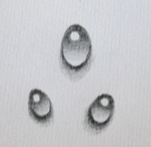 Drawn water drop #6