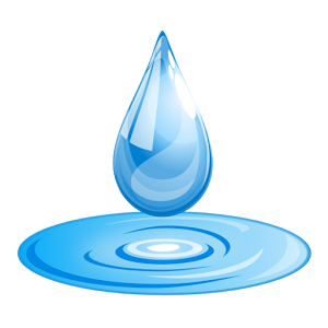 Drawn water droplets animated Cover on Google Play Water
