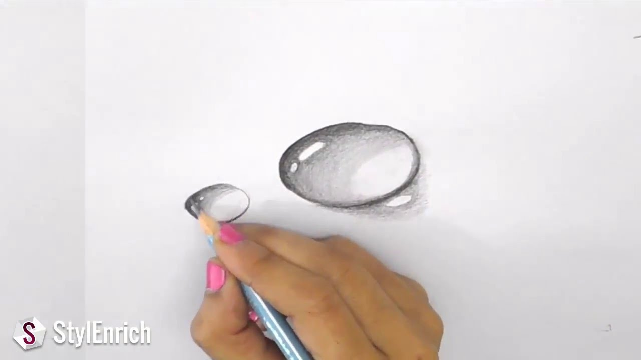 Drawn 3d art finger #2