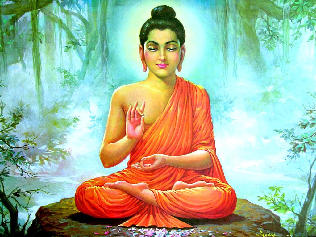 Drawn water droplets bhagwan Buddha Lord Download Bhagwan Wallpapers