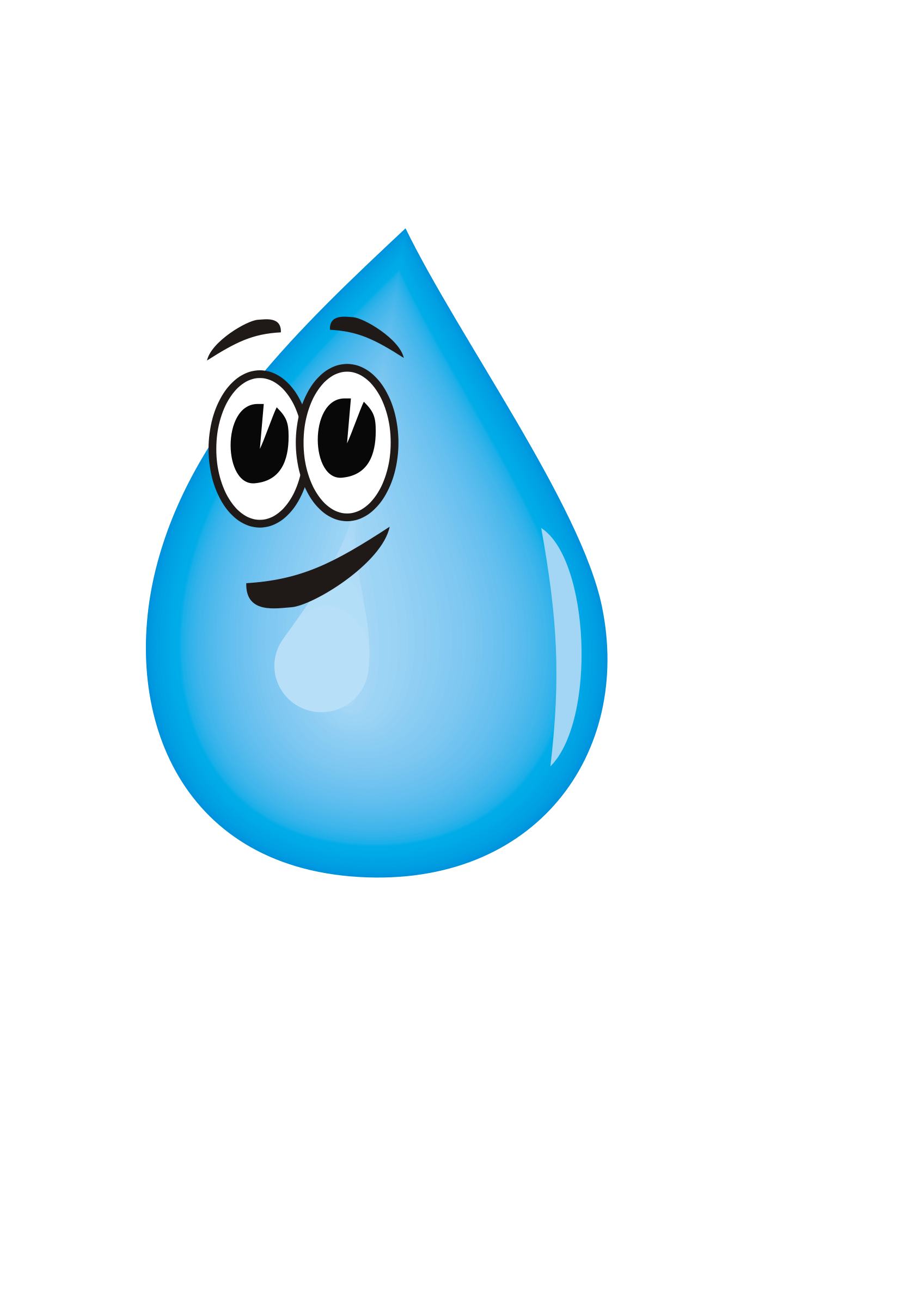 Drawn water droplets cartoon Clipart Drop Water drawings Water