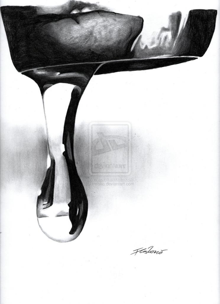 Drawn water droplets dropping Drops  Art Drop Drop
